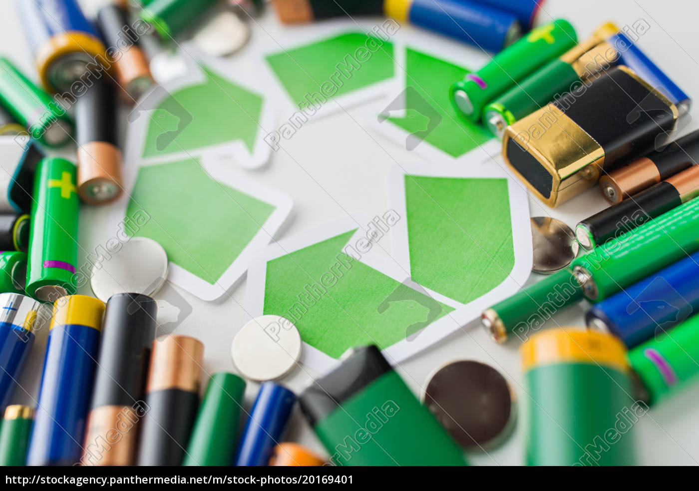 close, up, of, batteries, and, green - 20169401