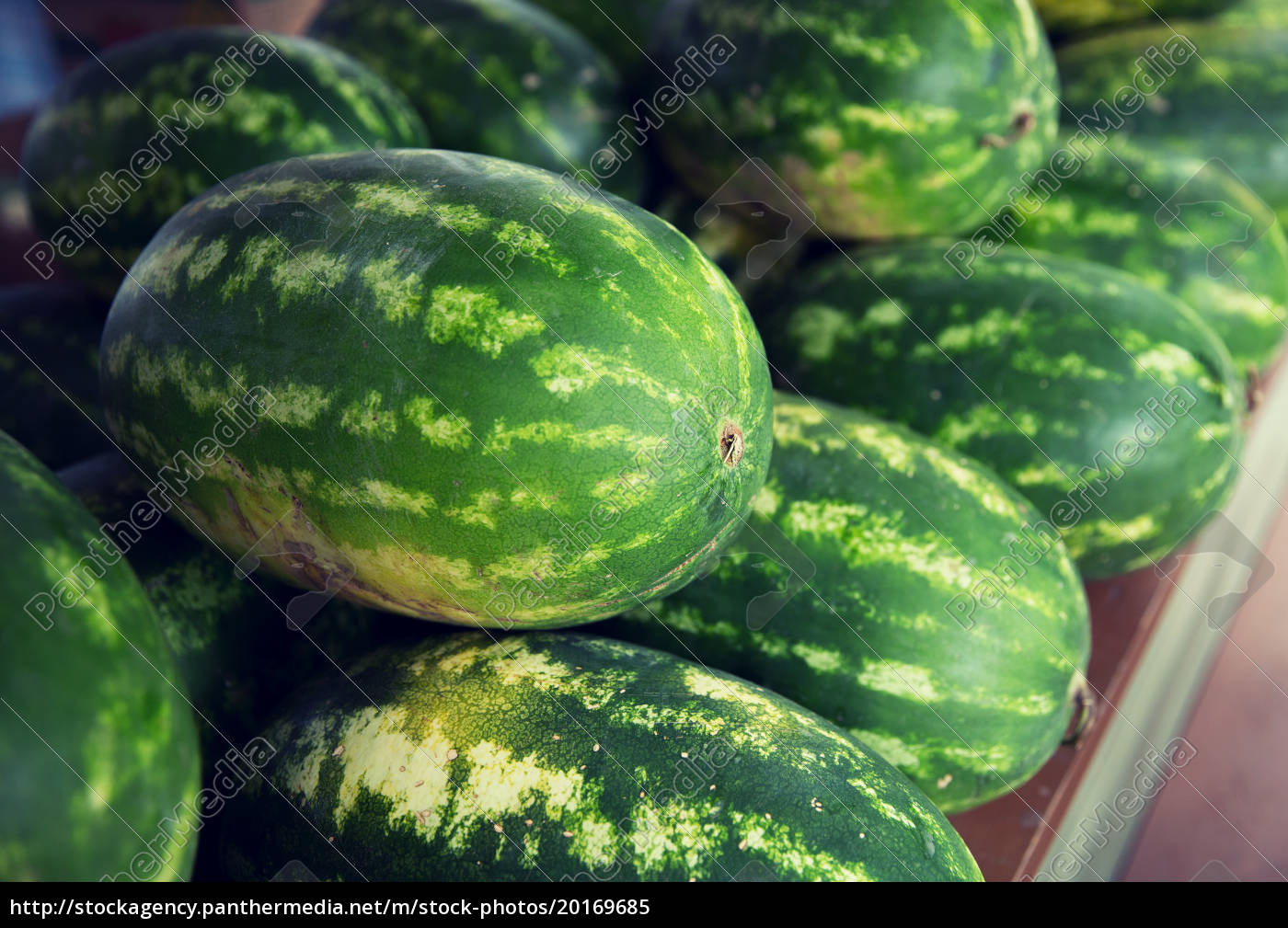 close, up, of, watermelon, at, street - 20169685