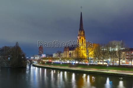 night frankfurt am main germany
