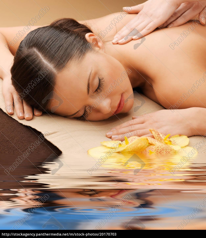 beautiful, woman, in, massage, salon - 20170703