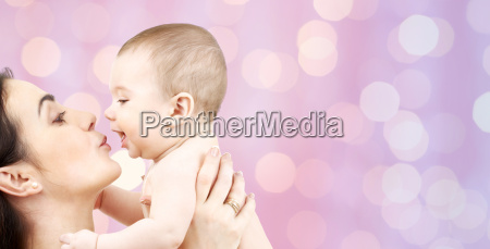 happy, mother, kissing, adorable, baby - 20170253