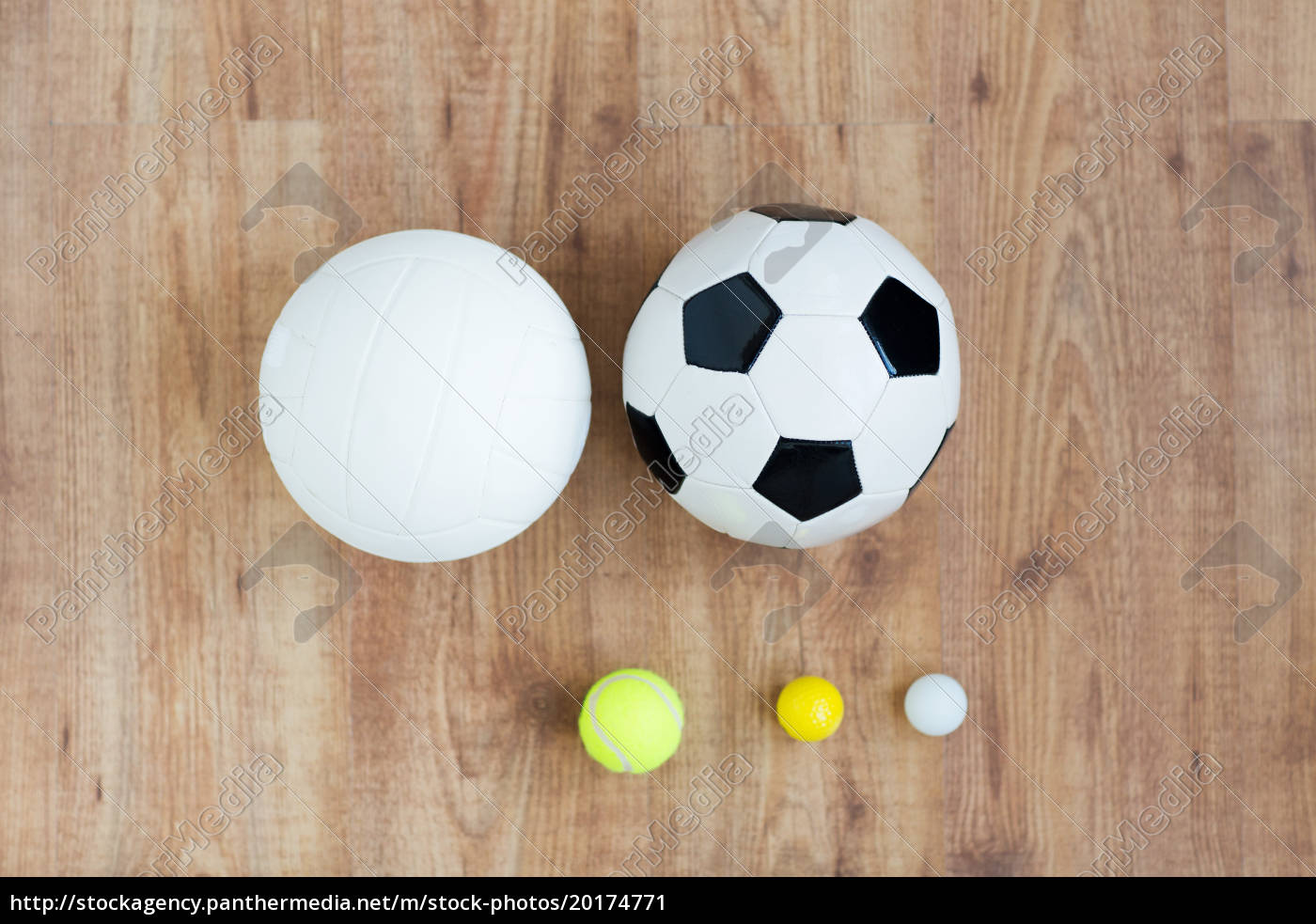 close, up, of, different, sports, balls - 20174771