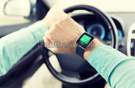 hands, with, music, icon, on, smartwatch - 20174485