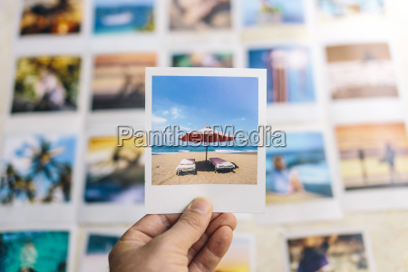 indonesia bali summer holiday on polaroid