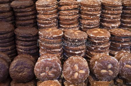 germany nuremberg gingerbread at christmas market