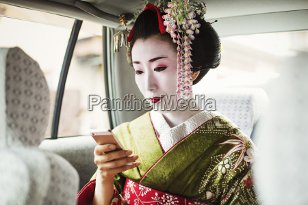 a woman dressed in the traditional