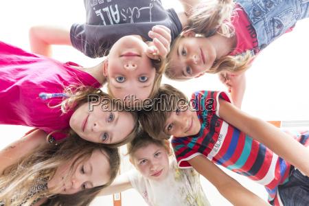 pupils of primary school head to
