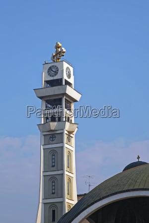 skopje church tower