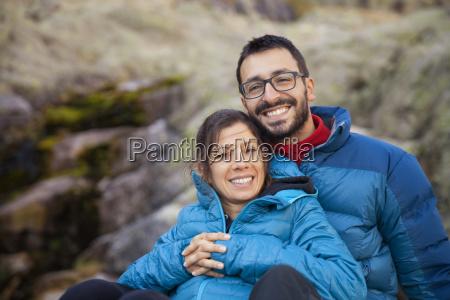 spain sierra de gredos happy couple