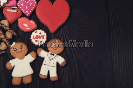 gingerbreads, for, valentines, day - 20217051
