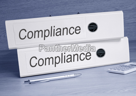 compliance folder in the office