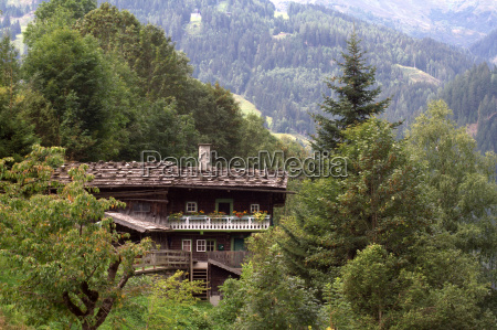 old building in the gaisbach valley
