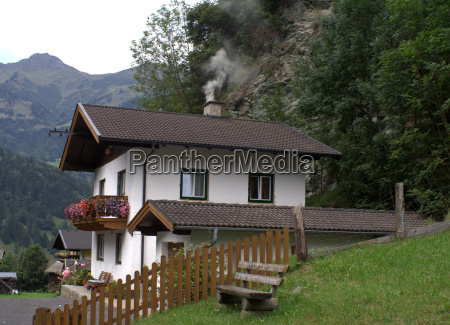 new building in the gaisbach valley