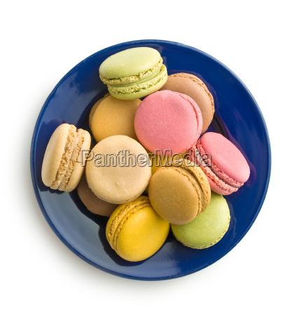 tasty sweet macarons
