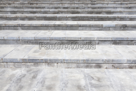 wide concrete steps