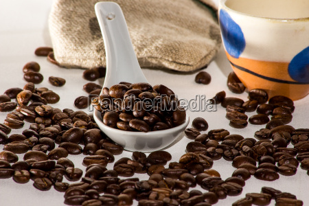 coffeeboots with a cup