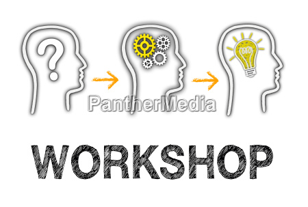 workshop und teamarbeit
