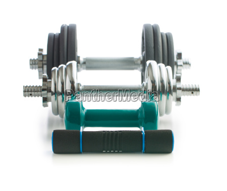 the various dumbbells