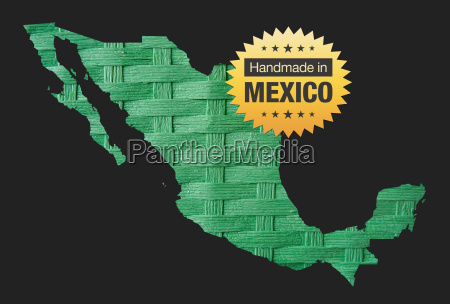 handmade in mexico quality badge