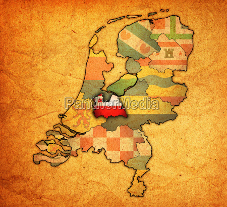 utrecht on map of provinces of