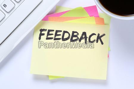 feedback business customer service service opinion