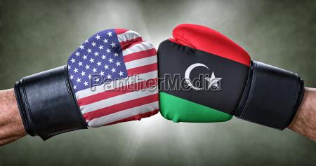 boxing match usa against libya