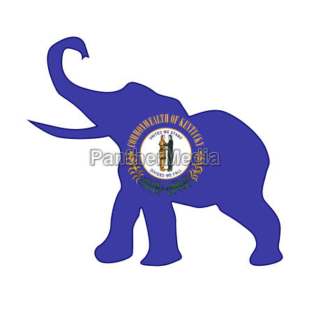 kentucky republican elephant flag