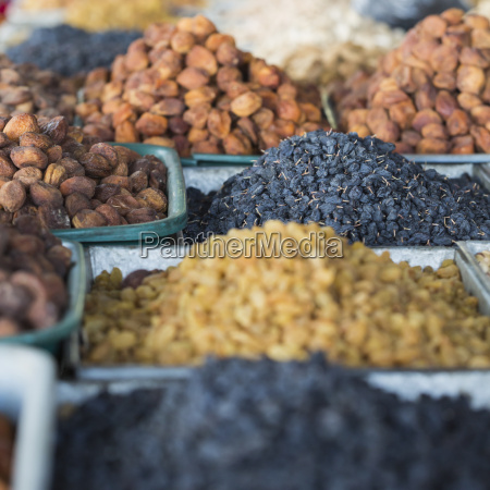 dry fruits and spices like cashews
