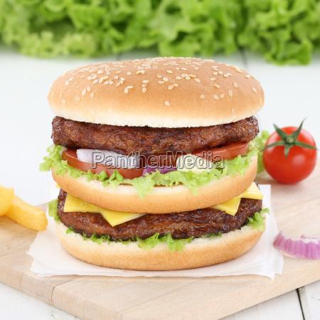 doubleburger double burger hamburger fresh onion
