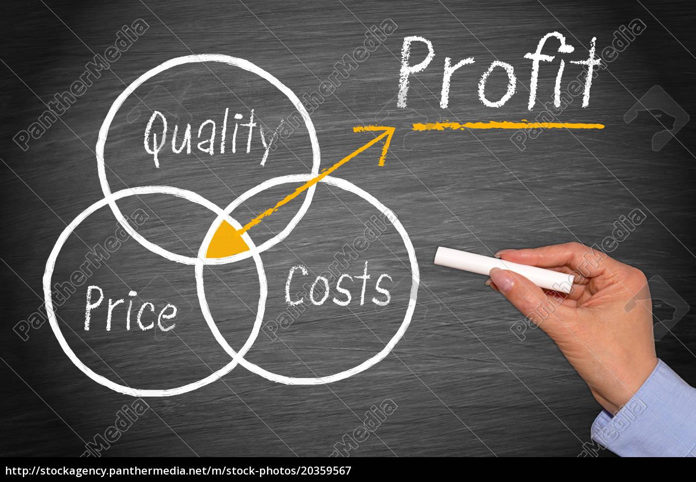 profit, und, marketing, konzept - 20359567