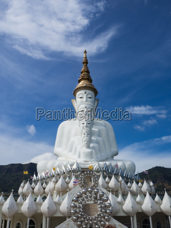 temple on the mountain sky background
