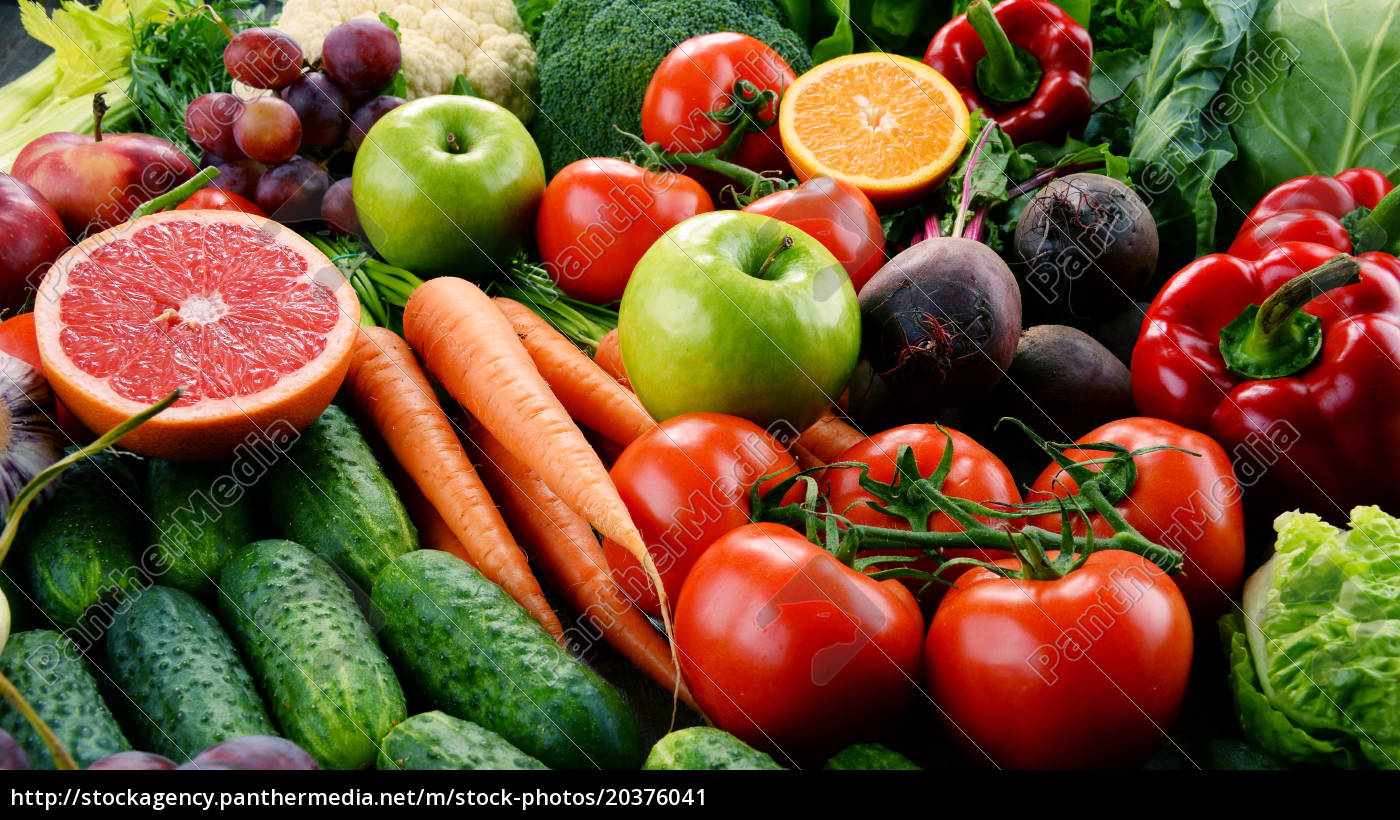 assorted, raw, organic, vegetables - 20376041