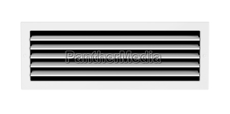 air vent isolated on white
