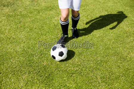 female, football, player, practicing, soccer - 20411071