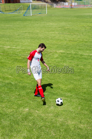 football, player, practicing, soccer - 20415101