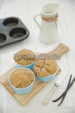 gluten free banana muffins and two