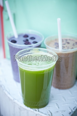 fresh juice and smoothies from a