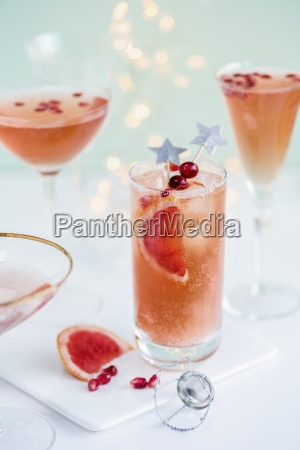 sparkly paloma with tequila pink grapefruit