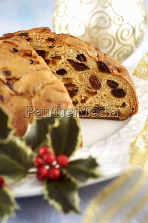 pandolce genovese di natale christmas cake