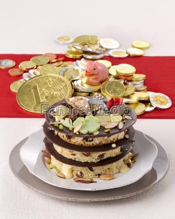 millefoglie al panettone yeast cake mille