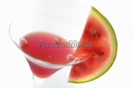 melon rouge drink close up
