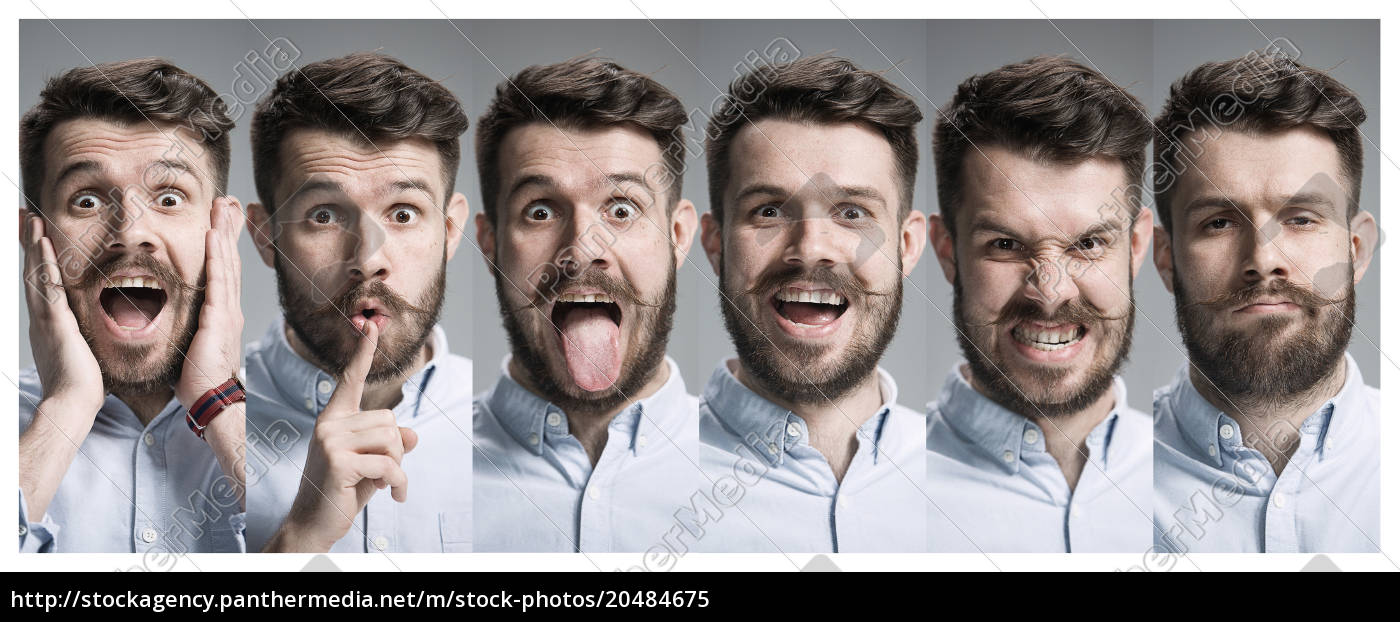 collage, of, happy, and, surprised, emotions - 20484675