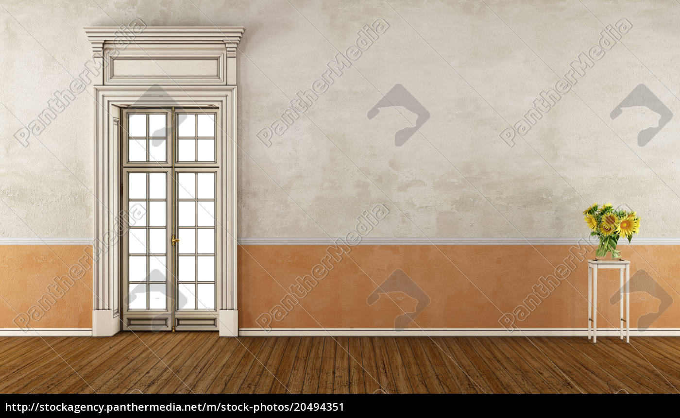 retro, living, room - 20494351