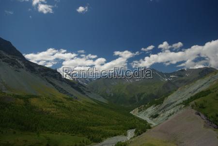 mountain landscape highlands the mountain peaks