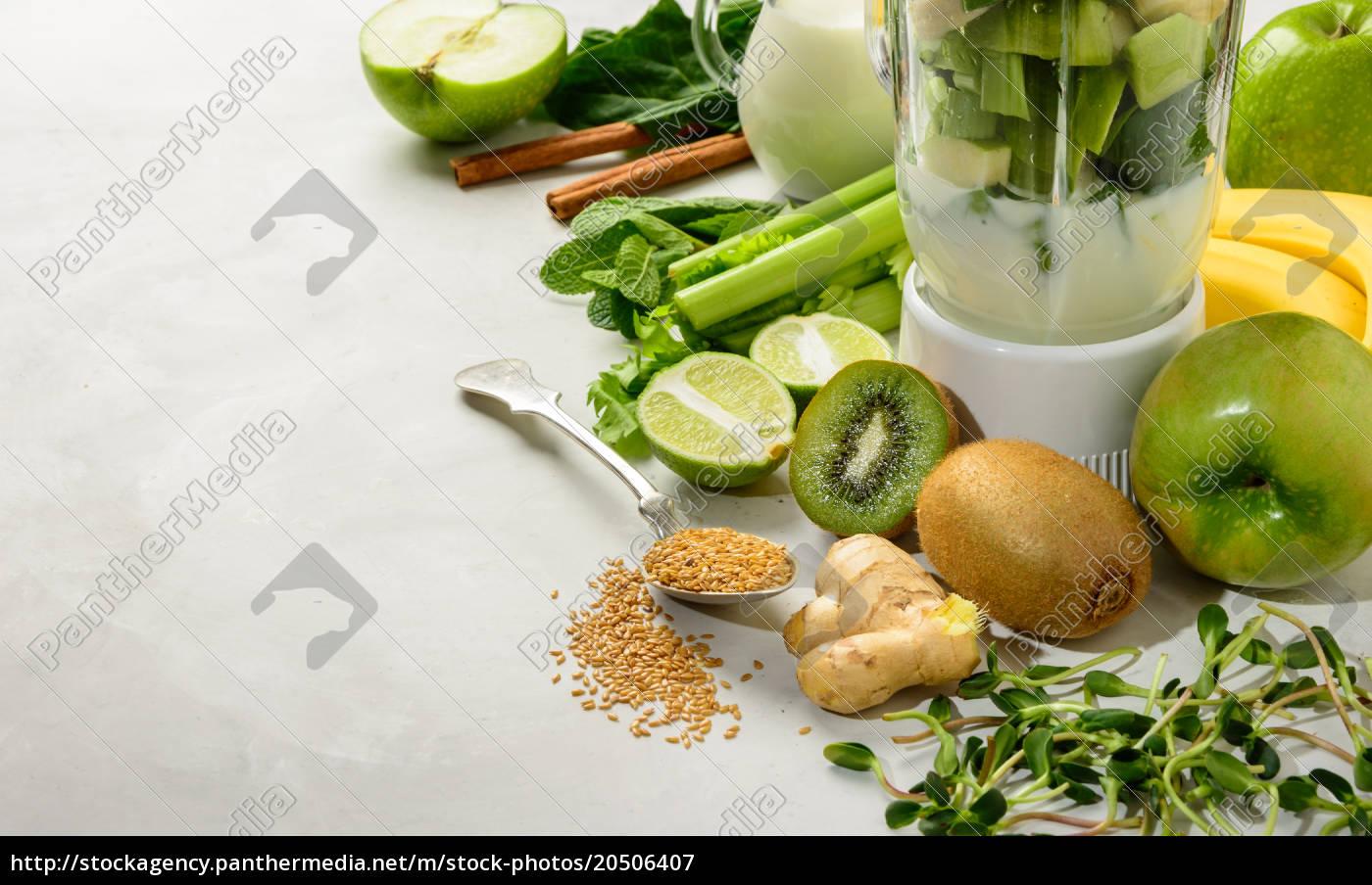prepared, ingredients, for, smoothies - 20506407