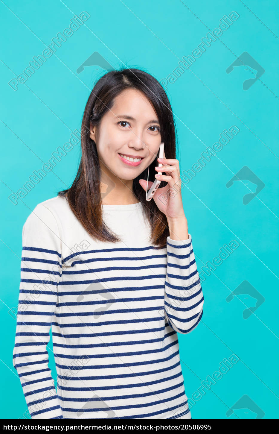 woman, talk, to, mobile, phone - 20506995