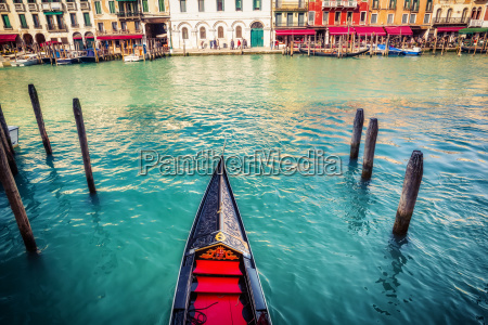 gondola, on, grand, canal, in, venice - 20507155
