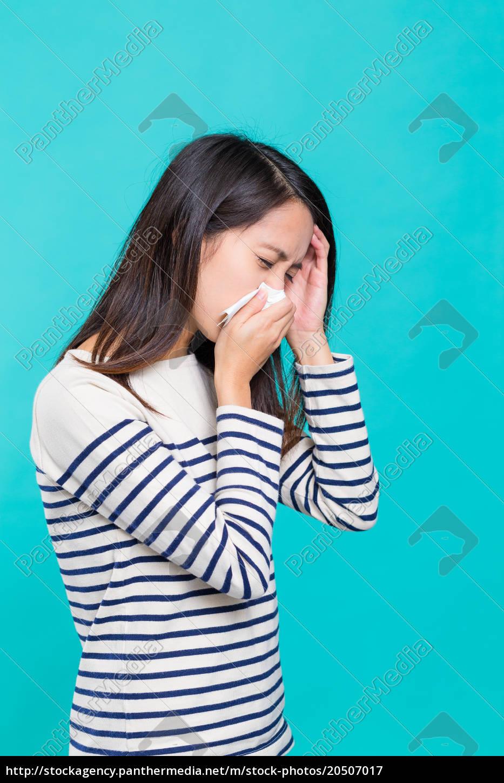 woman, feeling, sick - 20507017