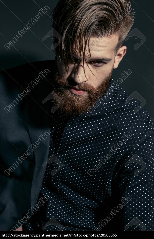 portrait, of, stylish, handsome, confident, man - 20508565