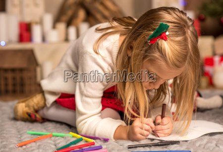 little, kid, drawing, picture - 20509033